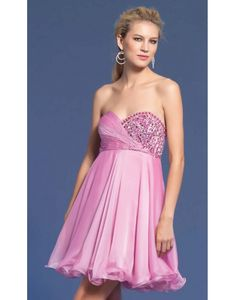Sweetheart Beading Pleated A-line Cocktail Dress