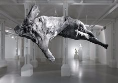 Nicola Samori, Installation view of the exhibition Religo at TRAFO, 2015