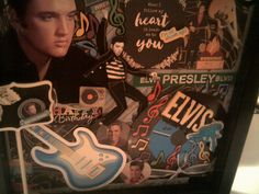 ELVIS IN BLACK Tribute To The king Of Rock & by CathysCraftWorld