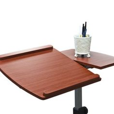 Best Choice Products Angle Height Adjule Rolling Laptop Desk Cart