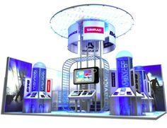Navico - Modular Stand - Design - #Exhibition #tradeshow