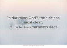Corrie Ten Boom, THE HIDING PLACE