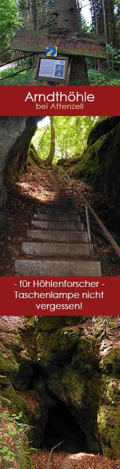 80 Stufen führen hinab zur Arndthöhle - einer der beeindruckendsten Höhlen im Altmühltal. Toller Geheimtipp für einen besonderen Ausflug.