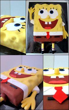 EspongeBob Cake  Tarta Bob Esponja