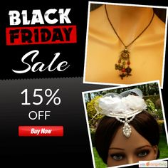 15% OFF on select products. Hurry, sale ending soon!  Check out our discounted products now: https://www.etsy.com/shop/Schmucktruhe?utm_source=Pinterest&utm_medium=Orangetwig_Marketing&utm_campaign=Black%20Friday%20Sale   #etsy #etsyseller #etsyshop #etsylove #etsyfinds #etsygifts #musthave #loveit #instacool #shop #shopping #onlineshopping #instashop #instagood