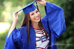 Senior Portrait / Photo / Picture Idea - Cheer / Cheerleader / Cheerleading - Cap & Gown Like & Repin. Noelito Flow. Noel songs. follow my links http://www.instagram.com/noelitoflow