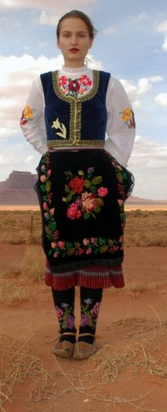 Serbia: ethnic dress. This is so beautiful!