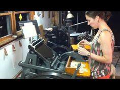 Printing at The Laughing Owl Press
