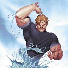 Hydro-Man screenshots, images and pictures - Comic Vine Marvel Villains, Marvel Comics Art, Marvel Characters, Comic Books Art, Comic Art, The Sinister Six, Absorbing Man, Beast Boy, Man Vs