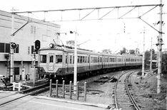 1972年11月20日 多摩湖線 国分寺駅 451系(311+1311+311)