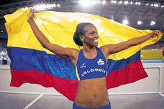 La colombiana Caterine Ibargüen / Archivo