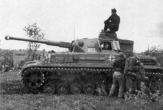 PzKpfw IV Ausf. F2, in the Volkhov pocket.