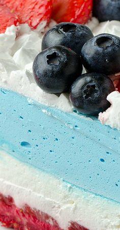No Bake Summer Berry Cheesecake