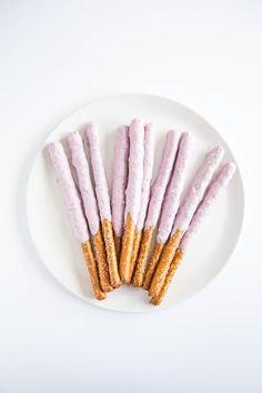 Frozen Yogurt-Covered Pretzel Rods - Afternoon Snack Upgrades, 5 Ways
