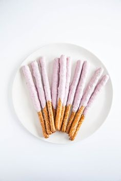 Frozen Yogurt-Covered Pretzel Rods - Afternoon Snack Upgrades, 5 Ways