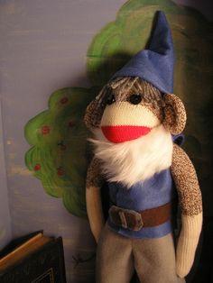 gnome monkey @Deana Novak.  that is so cute!