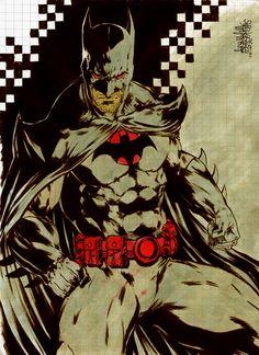 Batman Flashpoint by Garnabiel
