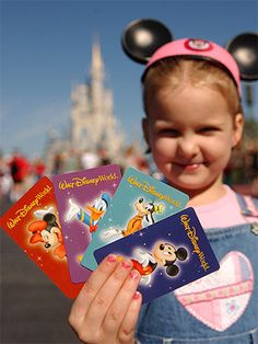 When buying your park tickets, the key to saving money is keeping it simple. With young kids, you probably won't have the time or stamina to visit water parks, so you'll be good with a base ticket that gets you into Disney's four parks: Magic Kingdom, Disney Hollywood Studios, Animal Kingdom, and Epcot. Three-day base tickets start around $203 for adults and $171 for kids age 3 and up; four-day passes start around $212 for adults and $178 for kids 3 and up. Children under 3 get into parks…