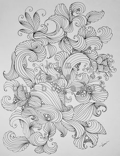 "‎Kim Dever Thibodeaux‎ to Shading Zentangle® Drawing time: 1 1/2 hours Shading time: Forever. LOL! Pigma Micron 03 pen. 8 1/2"" x 11"" cardstock."