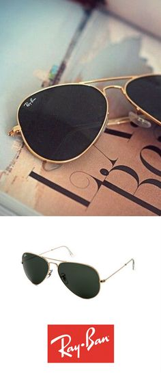 Ray-Ban Aviator sunglasses are the perfect match for any outfit and situation! http://www.smartbuyglasses.com/designer-sunglasses/Ray-Ban/Ray-Ban-RB3025-Aviator-L0205-19152.html