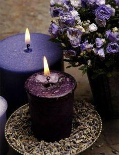 Lavender Candles!~ Ʀεƥɪииεð вƴ╭•⊰✿ © Ʀσxʌиʌ Ƭʌиʌ ✿⊱•╮