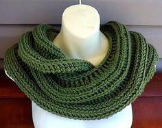 Cowl Pattern Crochet Pattern Crochet Scarf Pattern, Infinity Scarf Pattern Crochet Pattern, Crochet Cowl Pattern for Women, Snake Scarf