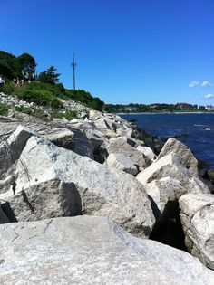 Cliff Walk, Newport Rhode Island. Taking by me - Rebecca N.