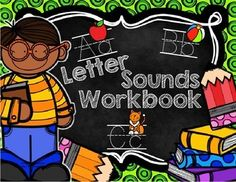 Letter Sounds Workbook: A-Z is the perfect resource which includes letter sound cards and colouring worksheets for each letter of the alphabet!   Your students will be actively engaged as they determine which picture(s) begin with the sound each letter makes and then colour the answers!