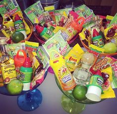 "Adult party favors ""Cinco De Mayo"" candy bags for adults"