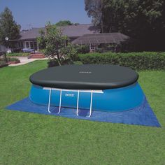 INTEX Abdeckplane Oval Easy Frame Ersatzfolie/Poolfolie