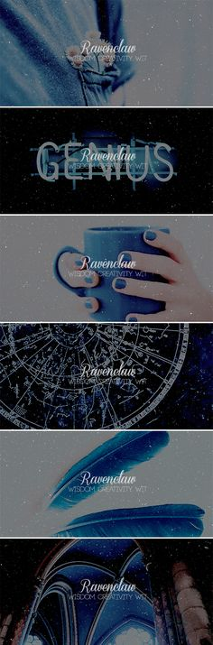 ➜Hogwarts Houses: Ravenclaw ❝ Or yet in wise old Ravenclaw, If you've a ready mind, Where those of wit and learning, Will always find their kind. ❞ —The Sorting Hat #hp