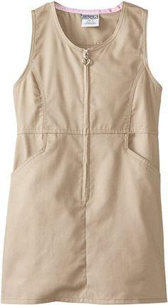 12 Ruffle Hem Khaki Genuine Girls Dress Jumper More Styles Available