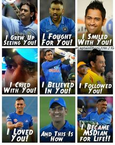 Only MSDhoni fans can relate to this. Sums up our life! India Cricket Team, Cricket Sport, Icc Cricket, Ms Dhoni Photos, Dhoni Quotes, History Of Cricket, Ms Dhoni Wallpapers, Cricket Quotes, Cricket Coaching