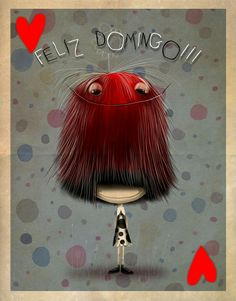 Domingo!!! Puppy Clipart, H Comic, Cute Images, Hair Designs, Artsy Fartsy, Painted Rocks, Clip Art, Pure Products, Drawings