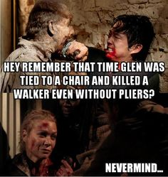 Only two things were really impressive about Andrea... the way she died... and her never ending mouth. XD
