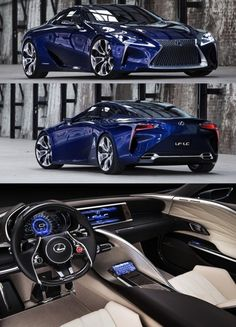 Lexus LF-LC, A car from Toyota/Lexus that finally rivals the the new designs from America and Europe, with a relatively competitive price tag