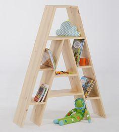 Corner Shelf Design, Creative Bookshelves, Diy Home Decor, Room Decor, House Plants Decor, Baby Furniture, Kids Bedroom, Upholstery, Decoration