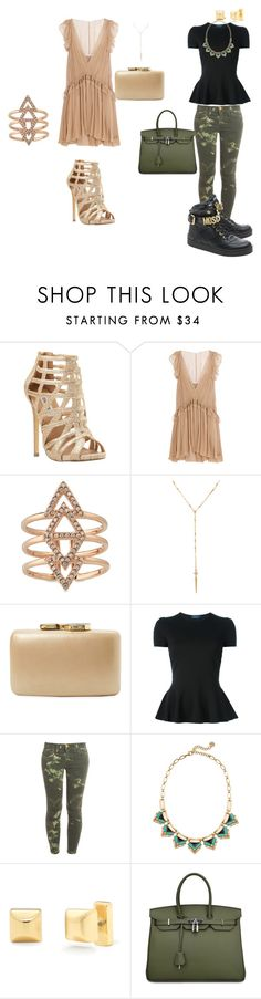 """morpho-style"" by harmonie-conseillere-en-image on Polyvore featuring mode, Steve Madden, Chloé, Stella & Dot, Kayu, Polo Ralph Lauren, Current/Elliott, Moschino, women's clothing et women"