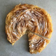 Ruffled Milk Pie –
