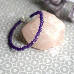 Amethyst Bracelet 925 Silver Bracelet Amethyst Jewellery
