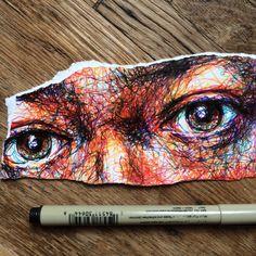 Noel Badges Pugh - A Level Art Sketchbook - A Level Art Sketchbook, Arte Sketchbook, Art Sketches, Art Drawings, Stylo Art, Art Du Croquis, Art Et Design, Fantasy Kunst, Sketchbook Inspiration
