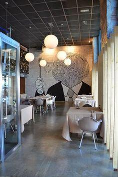 Marzua: Six Eight Restaurant, Madrid.