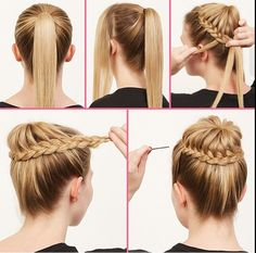 its also an easy prom look if you want you hair out of your face