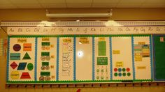 """I love this idea of a """"reference wall.""""  Check out the vowels on glue bottles.  So using this idea to help my wee ones remember that vowels are the """"glue"""" that holds words together.  :)"""