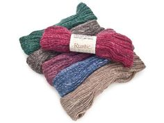 We love linen this summer and this wool and linen blend is the perfect fix! Plus it comes in gorgeous colors like Chianti, Dark Emerald and Periwinkle. We're already lining up the potential projects in our heads. #knitting #yarndeal