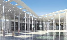 Canopy of the Cultural Centre in Muscat, Oman   Nemetschek Scia