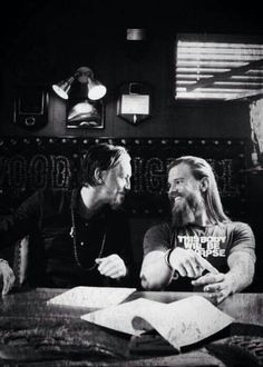Who doesn't love some Chibs and Opie love! This is so sweet! Tommy Flanagan and Ryan Hurst