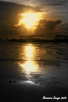 sunrise in bohol