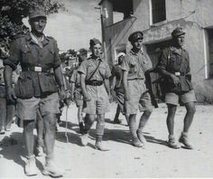 British troops captured during Battle of Crete , May 1941 .