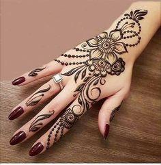 Henna Hand Designs, Henna Flower Designs, Mehndi Designs Finger, Wedding Henna Designs, Mehndi Designs 2018, Mehndi Designs For Beginners, Mehndi Design Photos, Unique Mehndi Designs, Mehndi Designs For Fingers